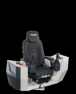 Крановый кресло-пульт управления KST 30 поворотный